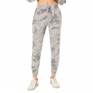 Sundry Camo Pocket Jogger Sweat Pants Sz M